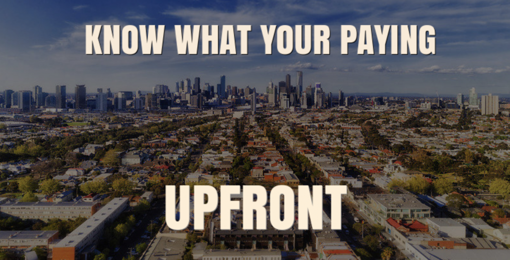 PROPERTY MANAGEMENT FEES MELBOURNE INFO GRAPH